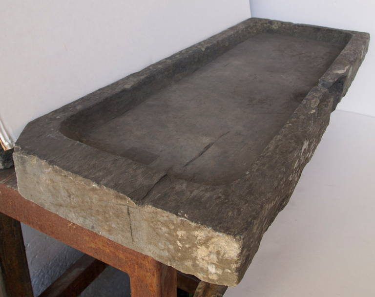 19th Century, French Slate Stone Sink at 1stdibs