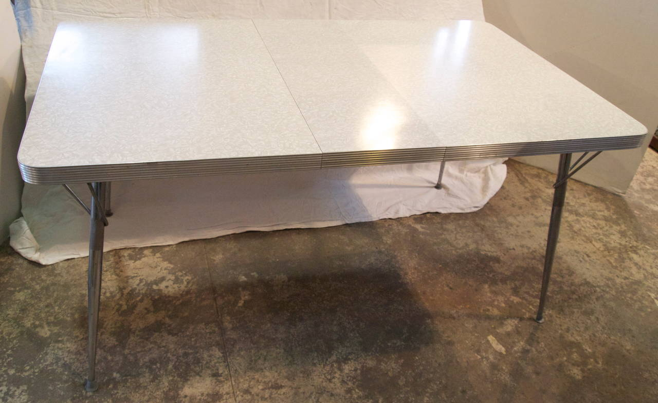 mid century formica top kitchen table for sale at 1stdibs