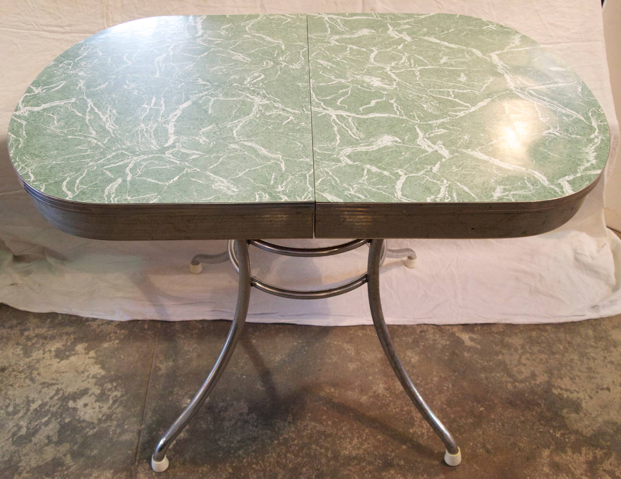 Mid century formica kitchen table at 1stdibs - Formica top kitchen tables ...