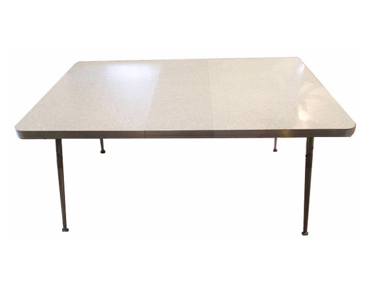 Mid century formica top kitchen table for sale at 1stdibs - Formica top kitchen tables ...