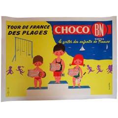 Original French Poster 'Choco Bin'
