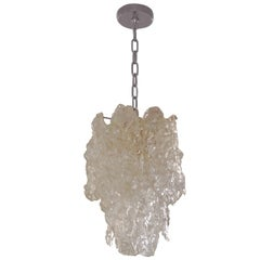 Murano Glass Chandelier by Carlo Nason for Mazzega