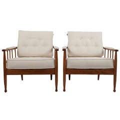 """Pair of """"Skrindan"""" Lounge Chairs by Kerstin Holmquist"""