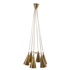 Adjustable Brass Ceiling Light