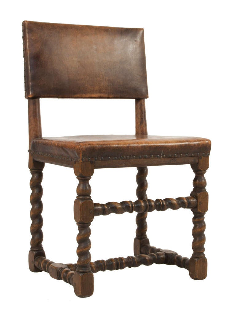 set of six baroque style dining chairs at 1stdibs