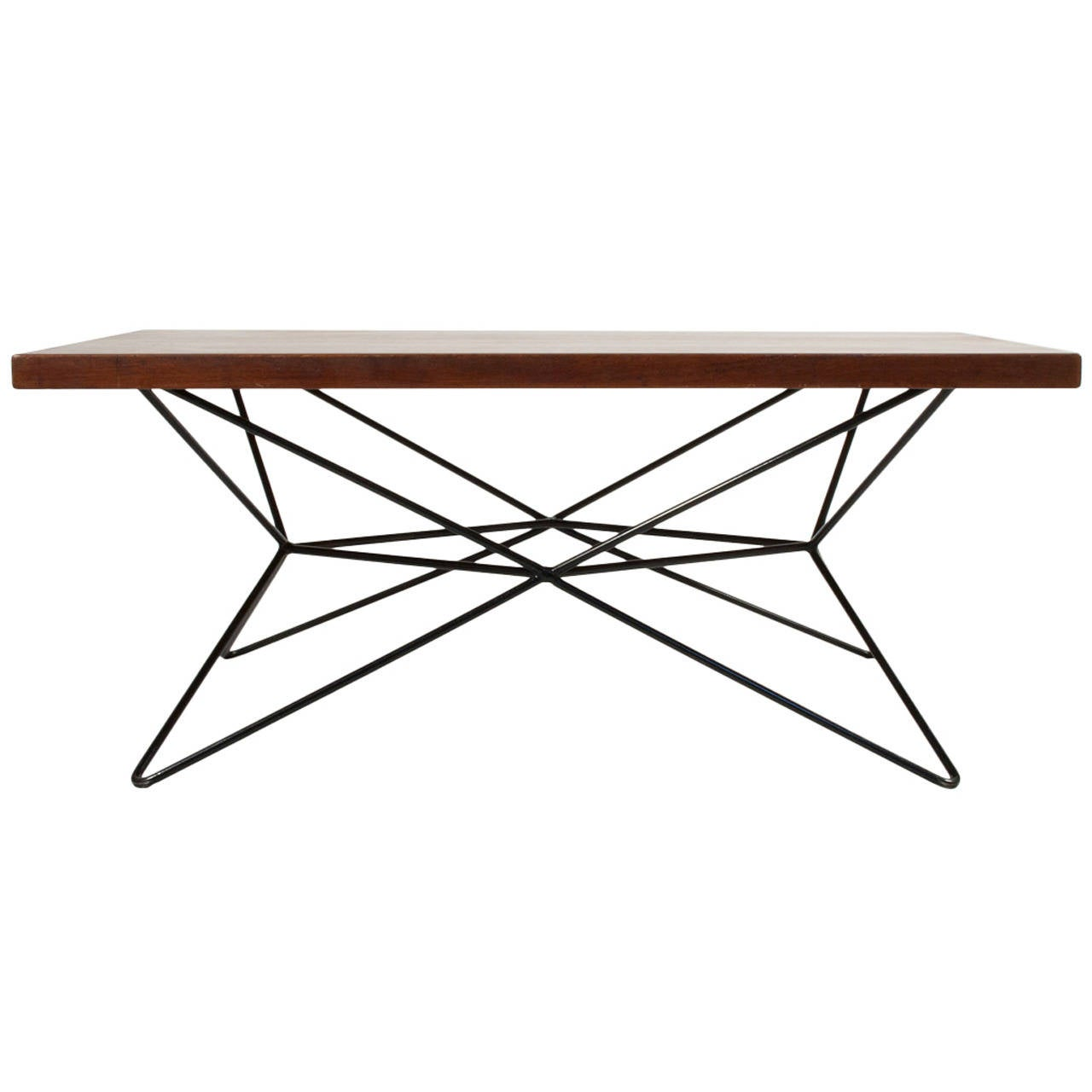Adjustable coffee table at 1stdibs for Adjustable coffee table