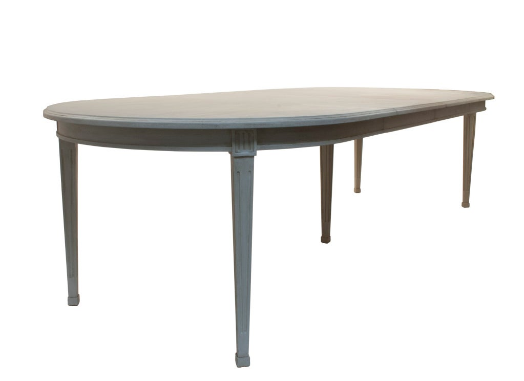 Reproduction Gustavian Dining Table For Sale At 1stdibs