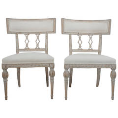 Pair of Side Chairs by Ephraim Stahl