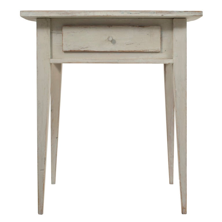 Gustavian side table at 1stdibs for Oka gustavian side table