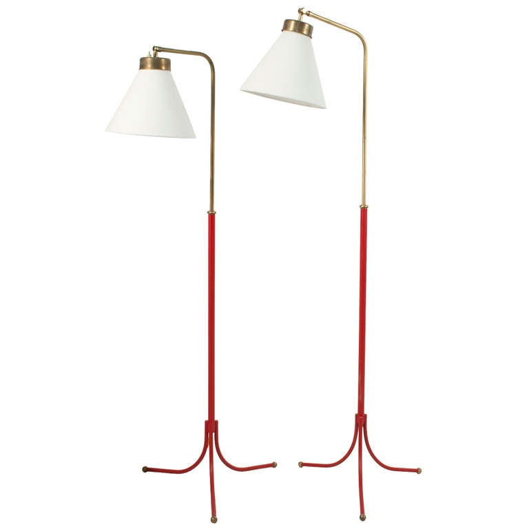 pair of floor lamps by josef frank at 1stdibs