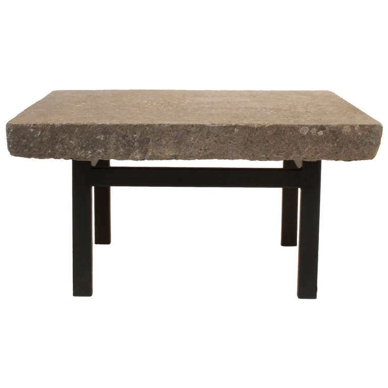 Stone Top Coffee Table At 1stdibs