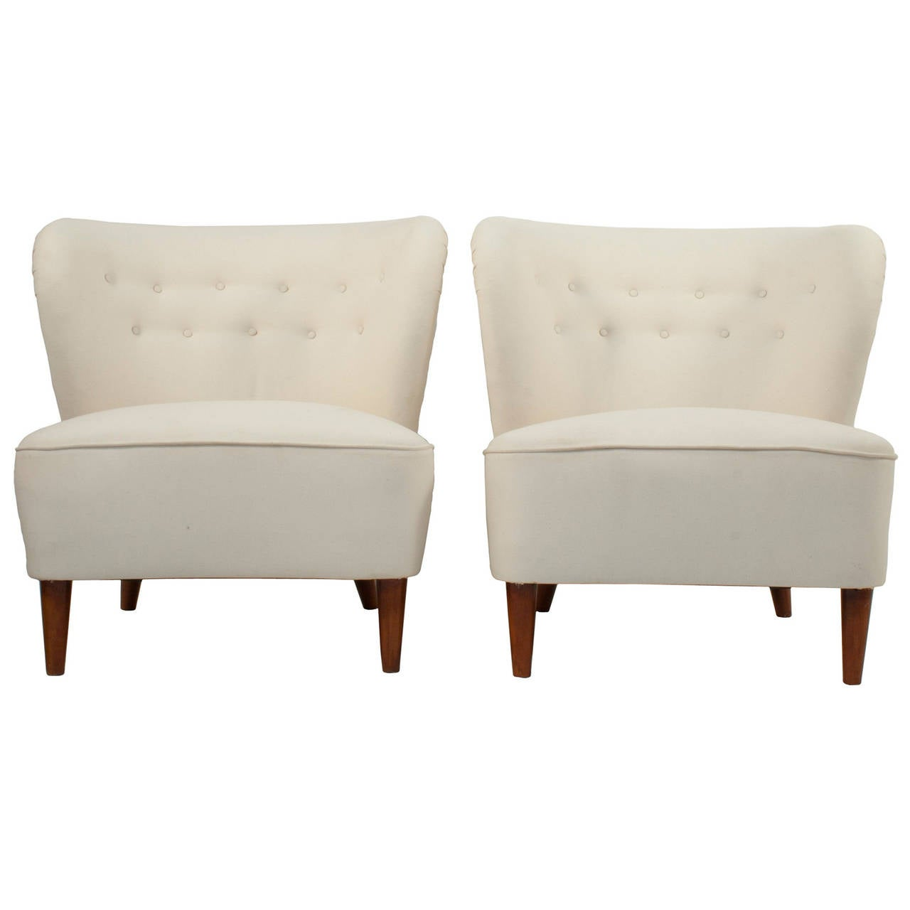 pair of club chairs by gösta jonsson for sale at stdibs - pair of club chairs by gösta jonsson