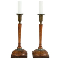 Pair of Gustavian Candleholders