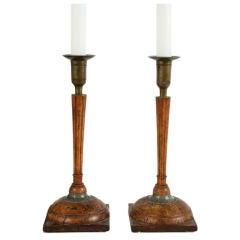 Pair of Gustavian Candleholders