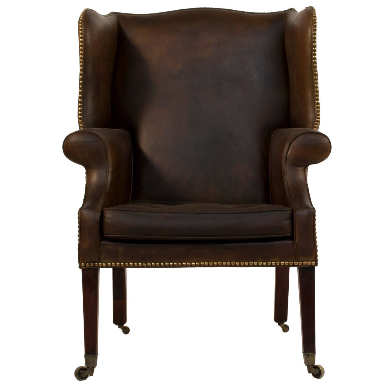 This Leather Wingback Chair is no longer available.