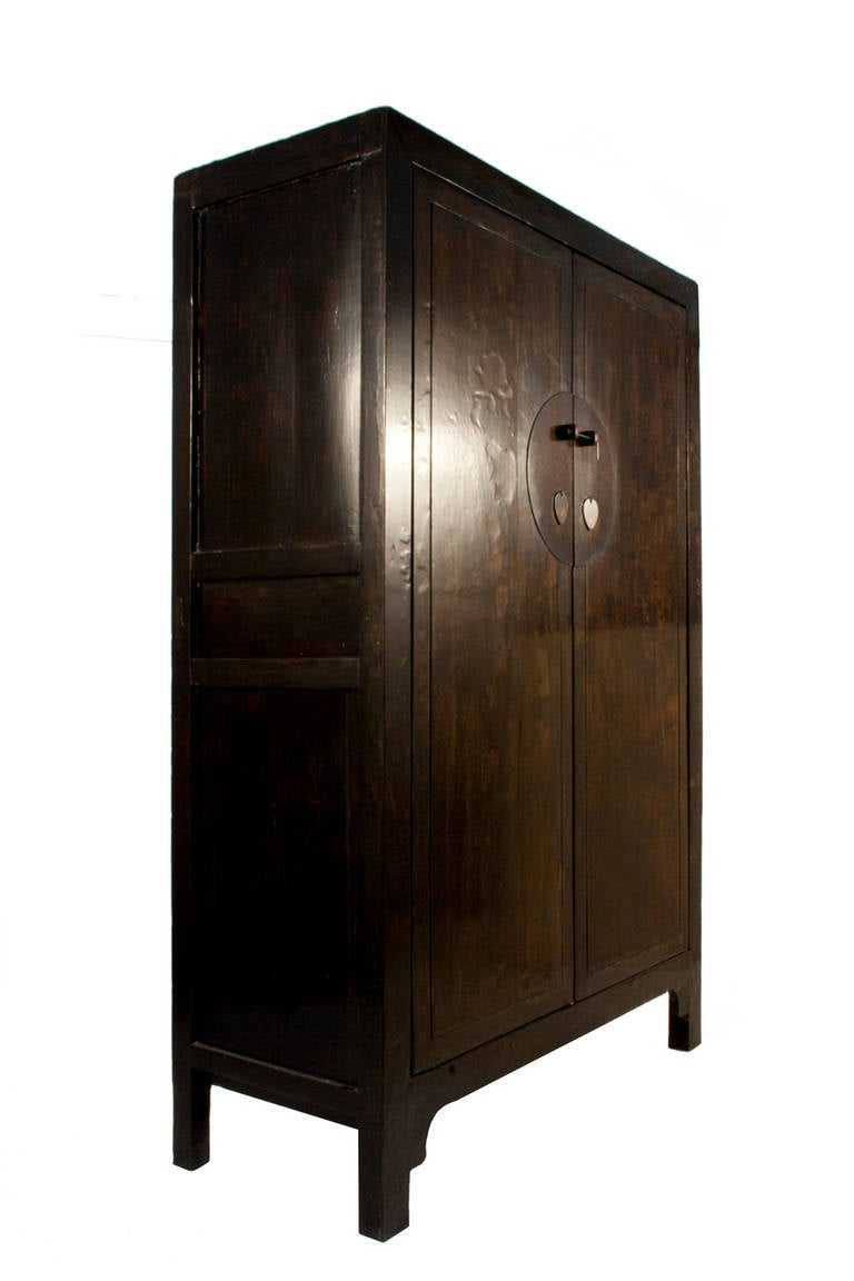 black lacquered shanxi cabinet at 1stdibs
