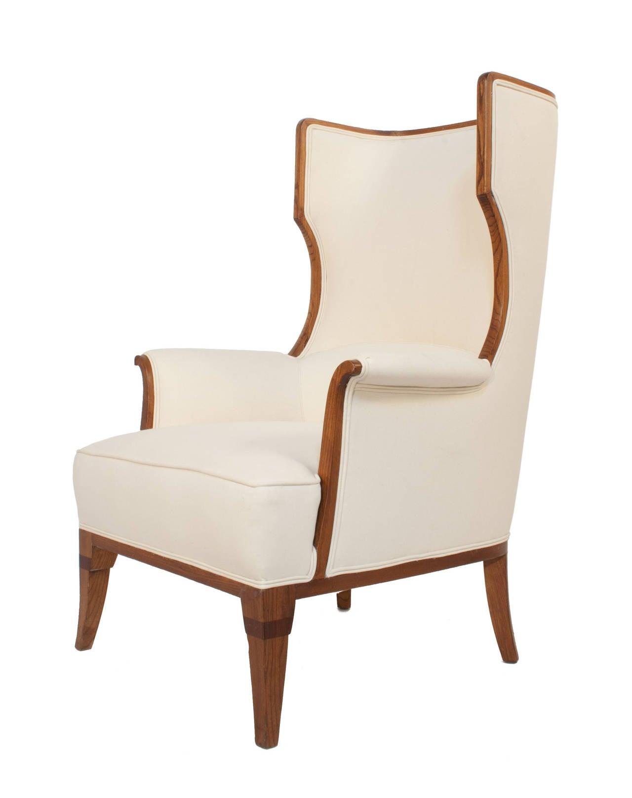 Swedish Grace Wingback Chair 2