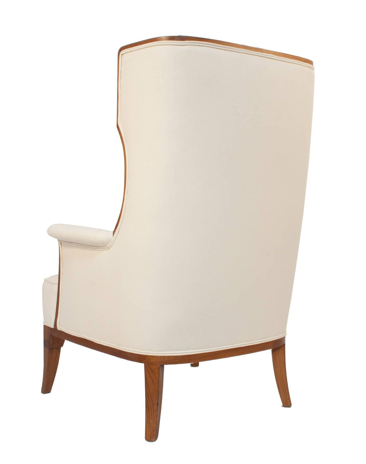 Swedish Grace Wingback Chair 3