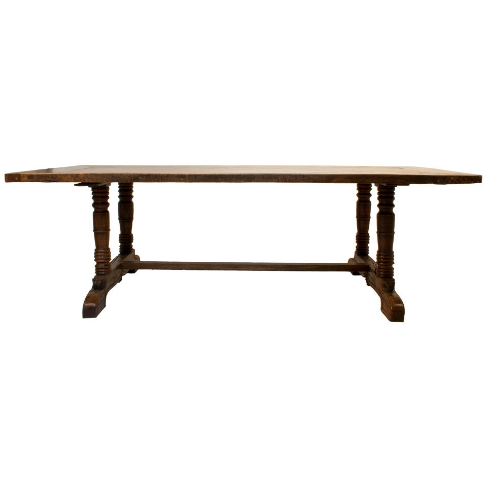 Spanish colonial dining table for sale at 1stdibs for Table in spanish