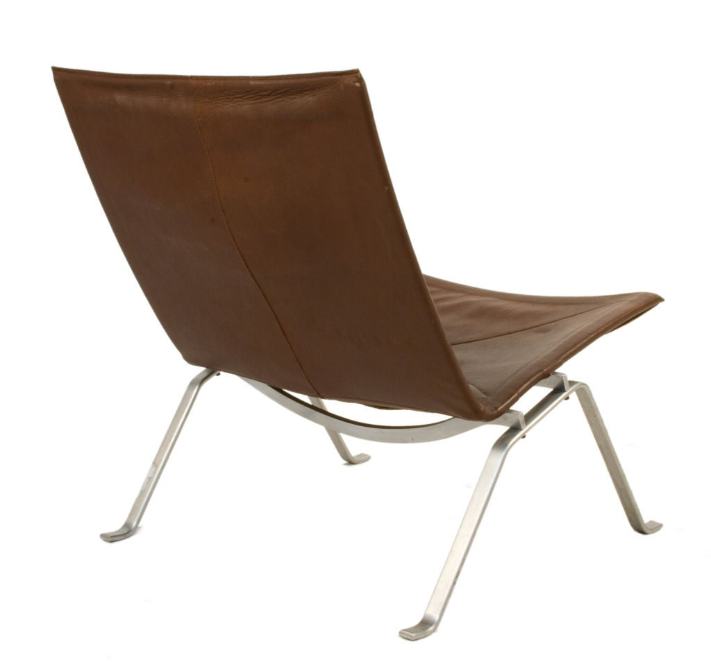 Poul Kjaerholm PK22 Leather Chairs At 1stdibs