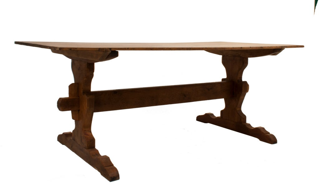 trestle dining table at 1stdibs