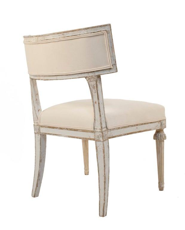klismos stool ~ pair of gustavian klismos chairs at 1stdibs