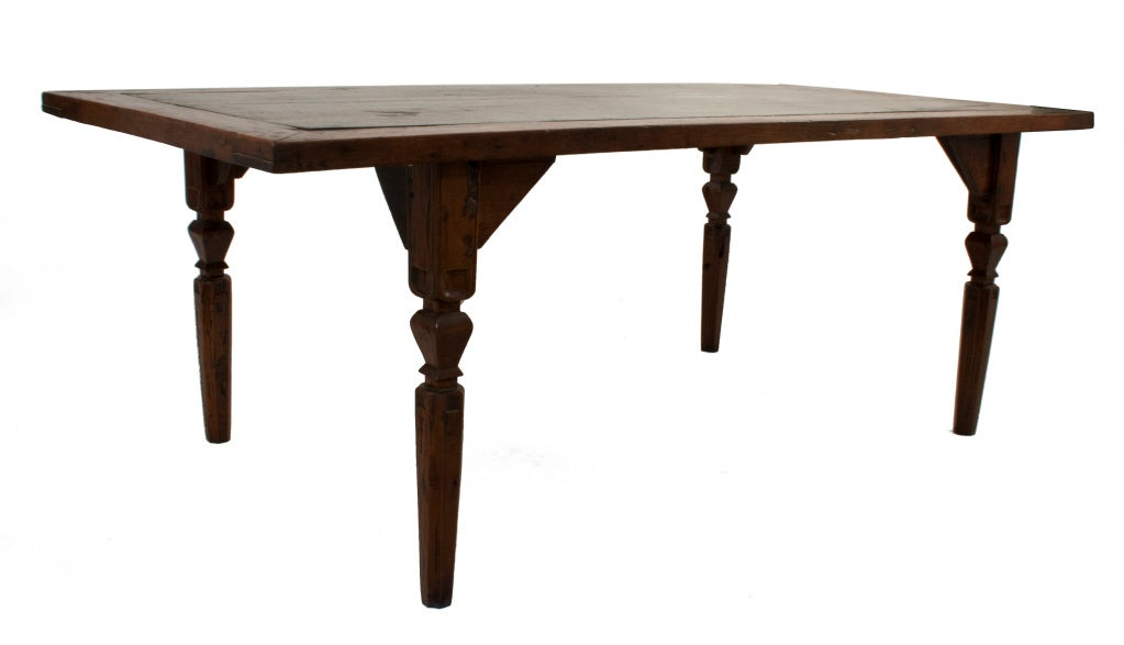 Colonial Dining Room Furniture: Spanish Colonial Dining Table At 1stdibs
