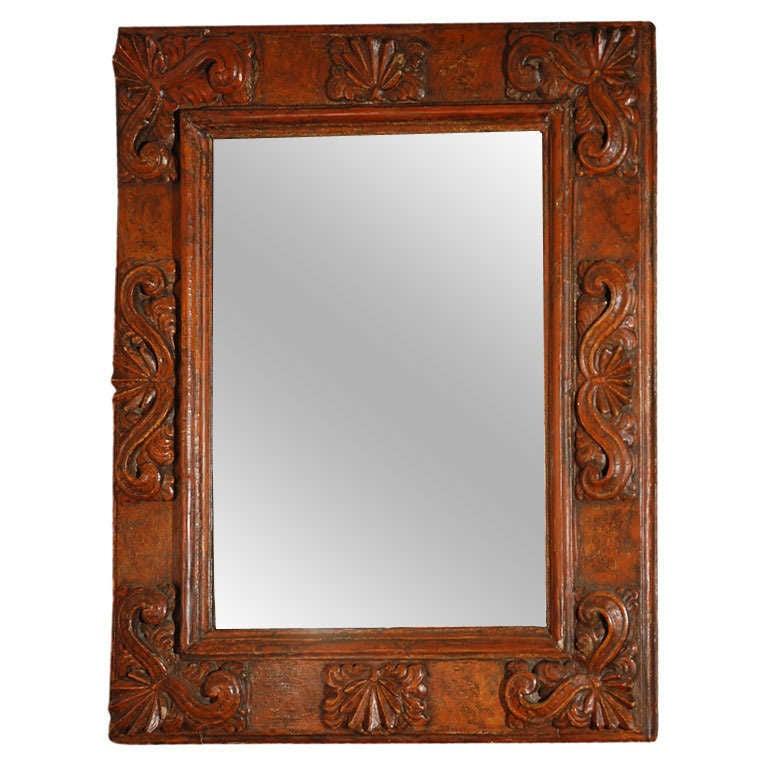 18th century italian baroque mirror for sale at 1stdibs for Italian baroque mirror