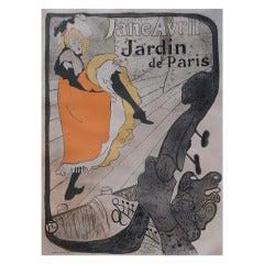 Henri De Toulouse-Lautrec, Jane Avril 1893