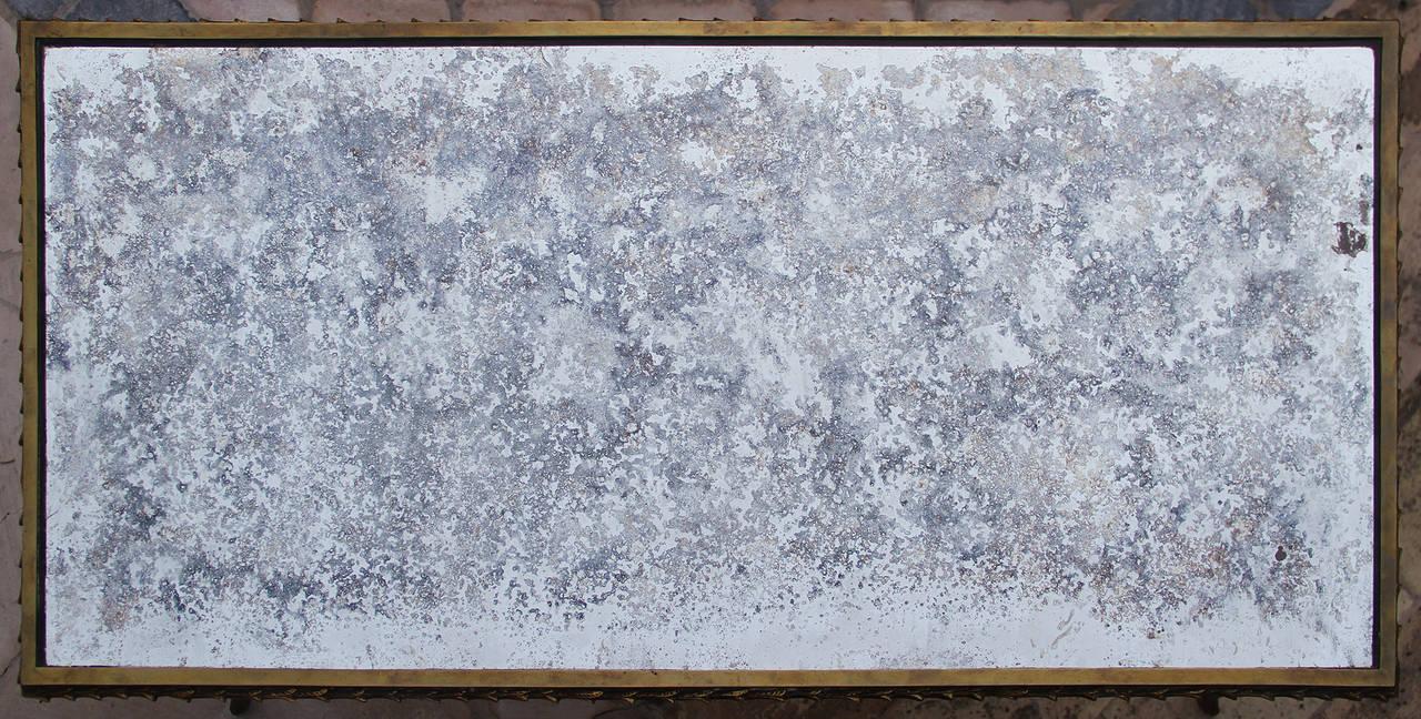 Rare Bronze Table by Maison Baguès, 1950 For Sale 1