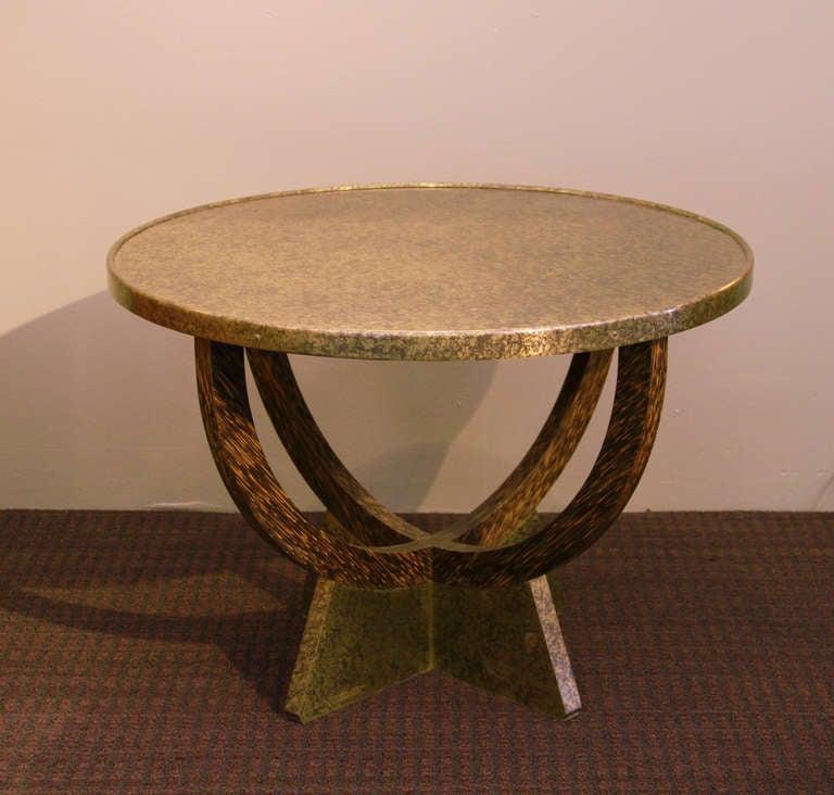 Art Deco Eugene Printz, 1935 Palmwood Coffee Table For Sale