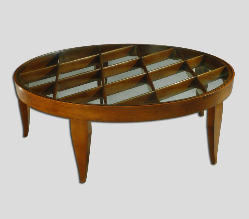 Coffee Table by Gio Ponti for Singer and Sons at 1stdibs