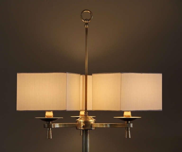 Prince de Galles, Paris, 1940s, Art Deco Floor Lamps For Sale 1