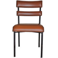 Authentic and original Jacques Adnet Chair 1950