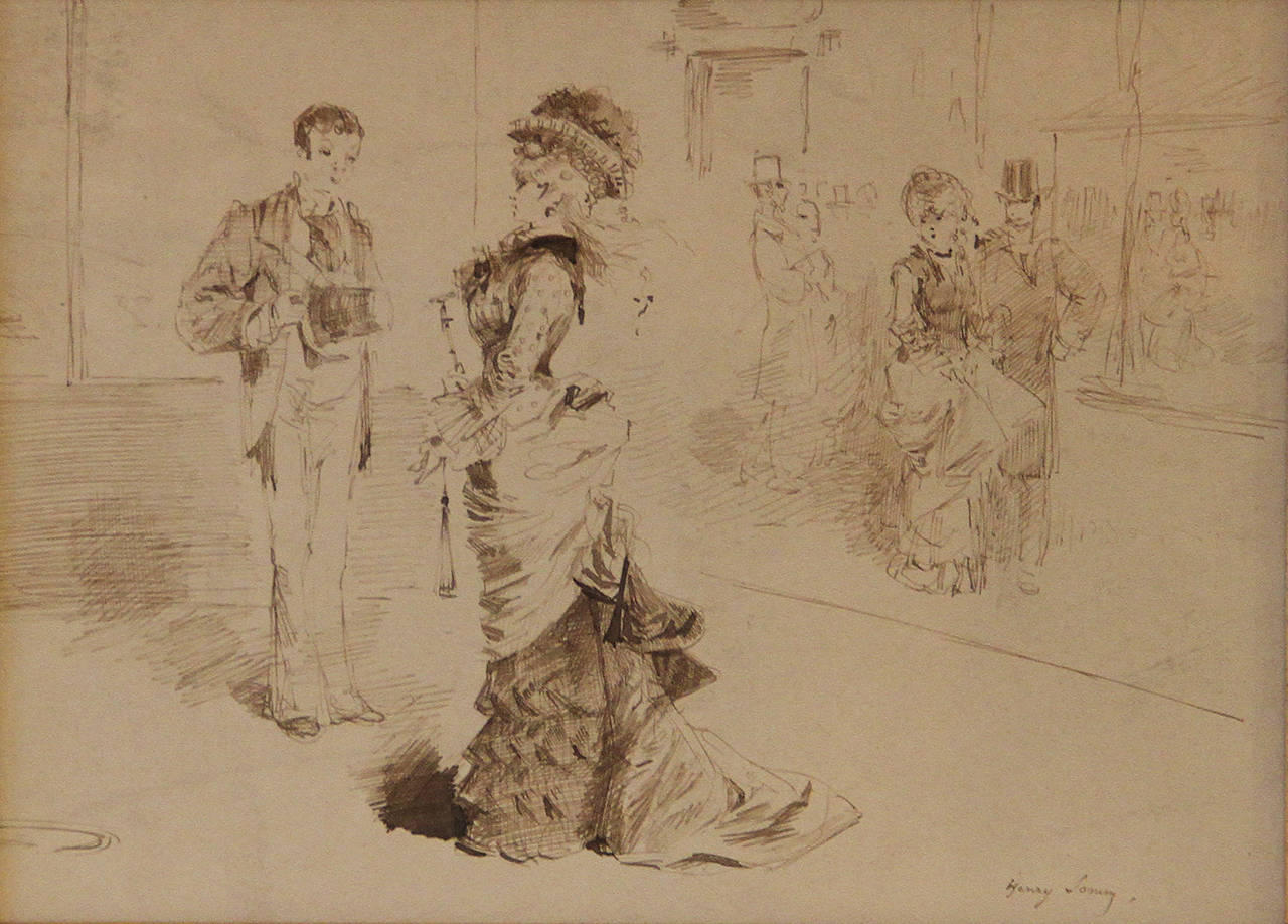 Henry-François Sommier, called Henry Somm (1844-1907).