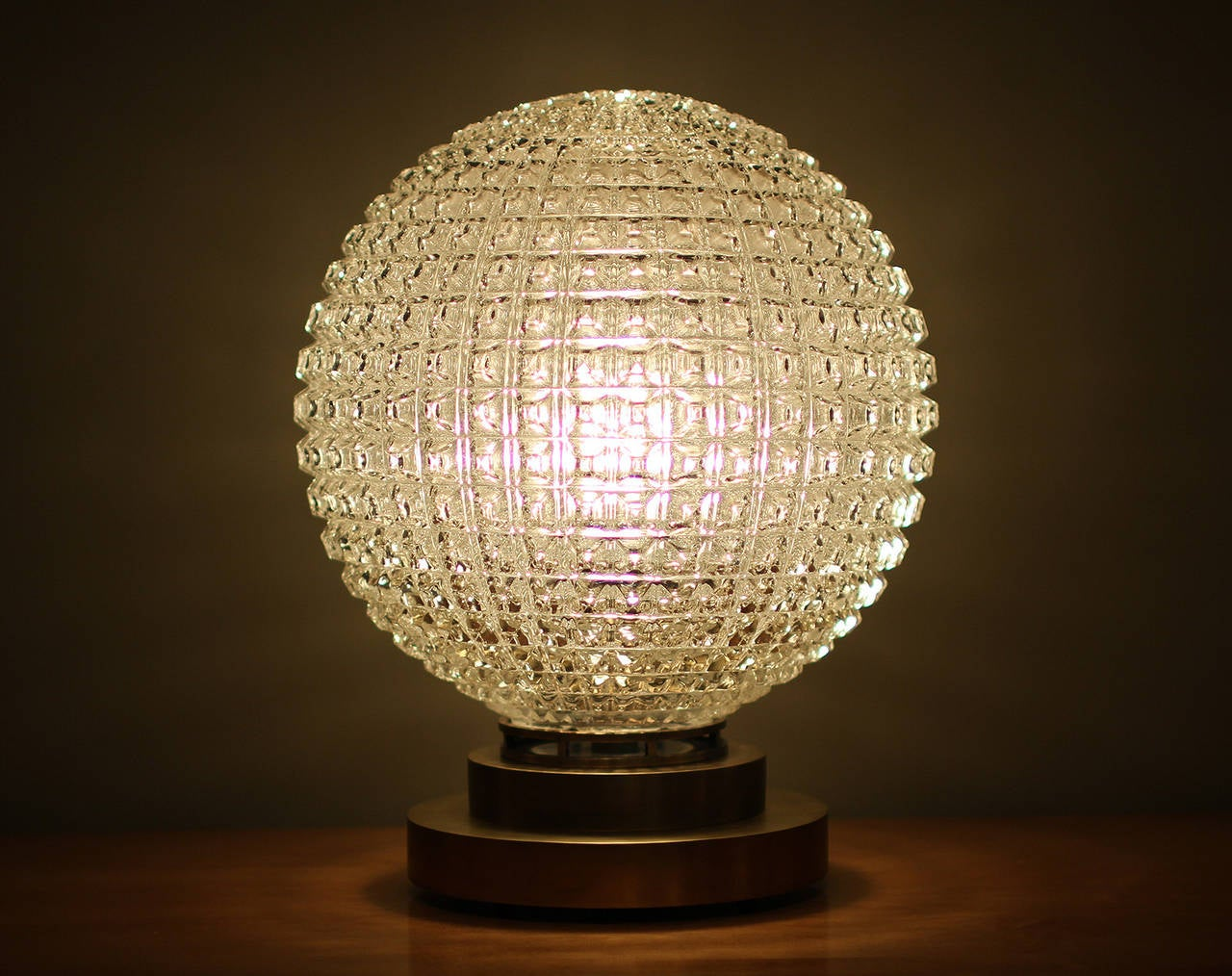 French Exceptional Table Lamp by Marius-Ernest Sabino, France, 1930 For Sale
