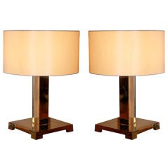 Pair of Table Lamps by Greg MATHIAS