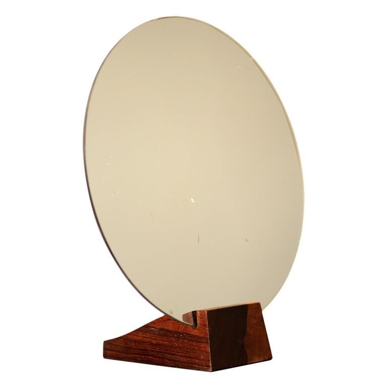 Émile-Jacques Ruhlmann and Jules Deroubaix mirror, 1928, offered by Morateur Gallery