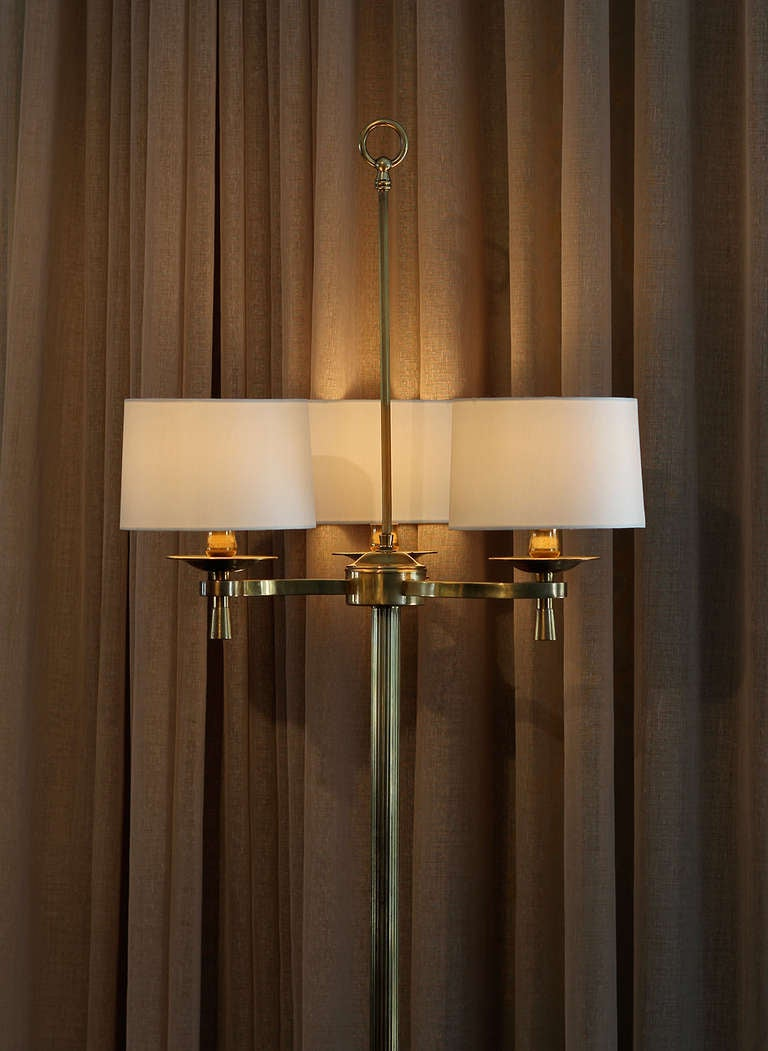Mid-20th Century Prince de Galles, Paris, circa 1940 Art Deco Floor Lamps For Sale