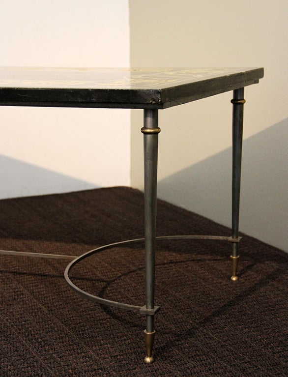 Raymond Subes Attr Elegant Coffee Table France 1940 At 1stdibs