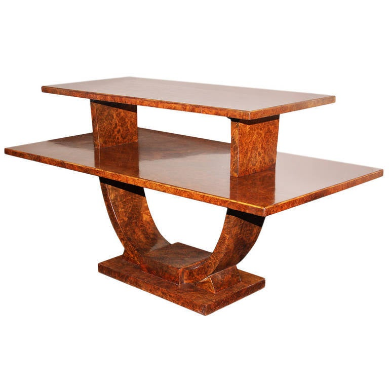 Jules Leleu, Rare Coffee Table, France, 1930 For Sale