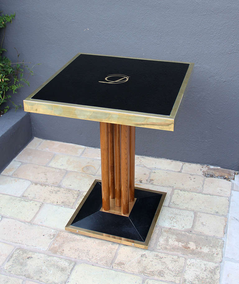 Bistro Table From Drouant Restaurant Paris At 1stdibs