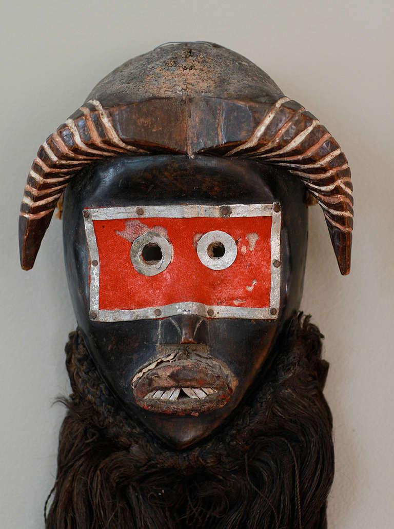 Central African Museum Quality Dan Toura African Mask For Sale