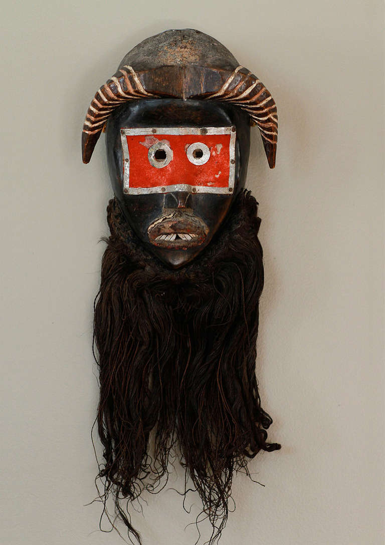 20th Century Museum Quality Dan Toura African Mask For Sale