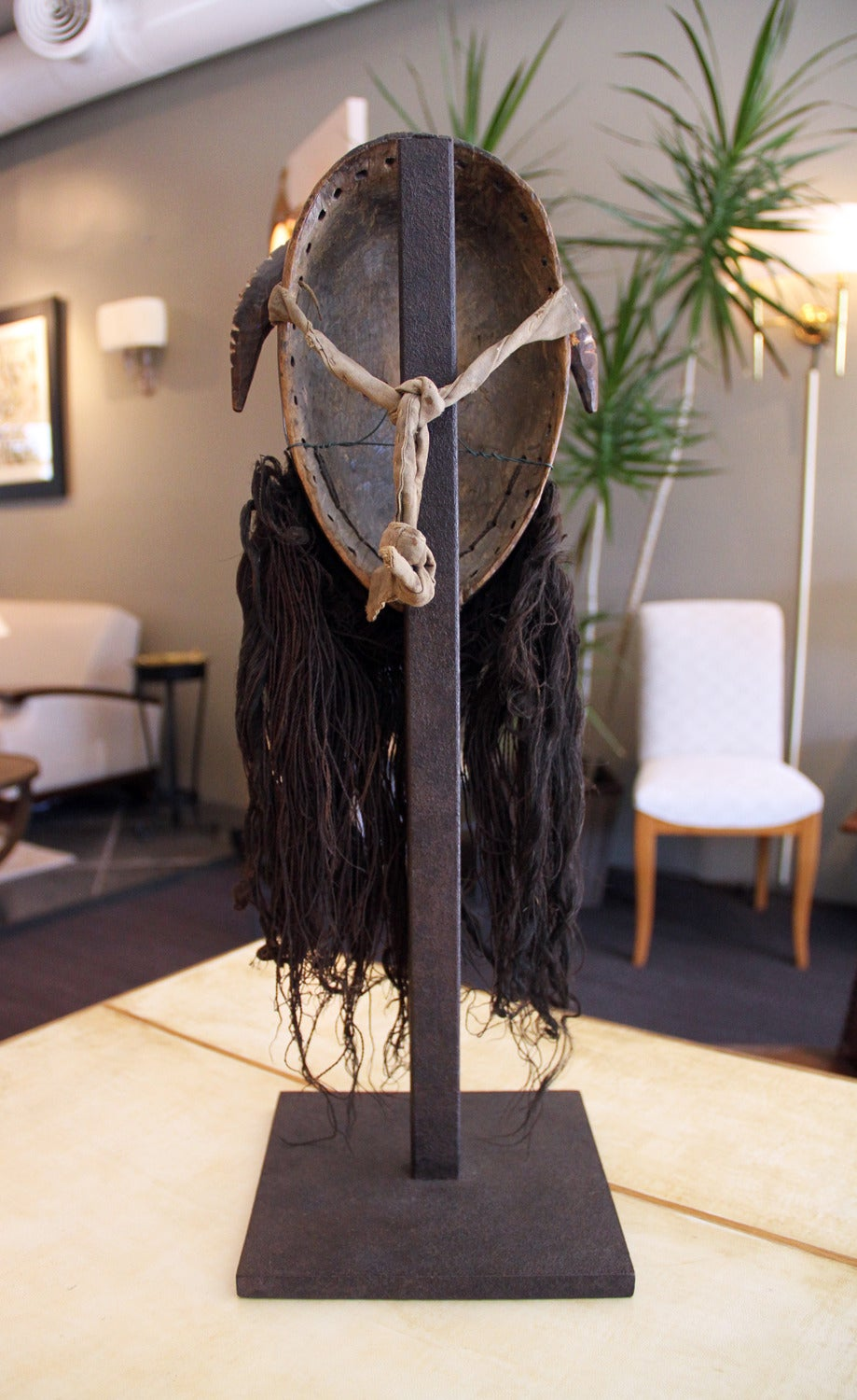 Fabric Museum Quality Dan Toura African Mask For Sale