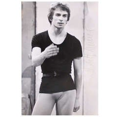 Photograph of Rudolf Nureyev by Jürgen Vollmer