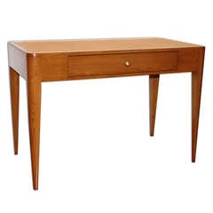 E.J. Ruhlmann: Rare And Elegant 1930 Desk In Oak And Ash