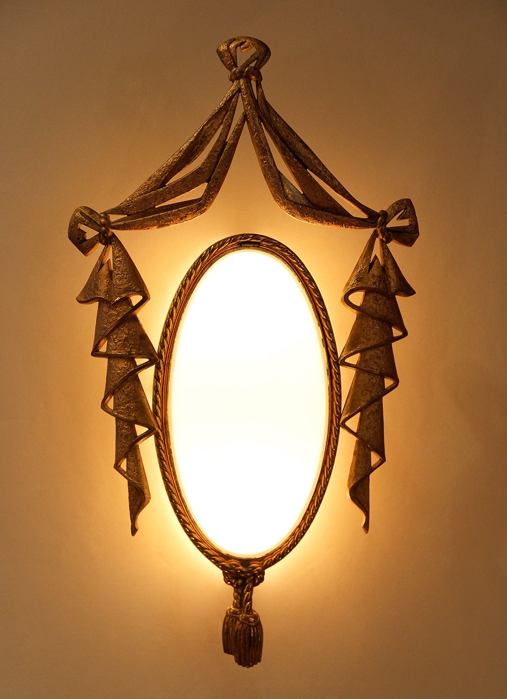 Very Elegant Pair of Bronze Sconces by J. Barat 4