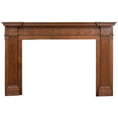 Pine Federal Period Fire Surround