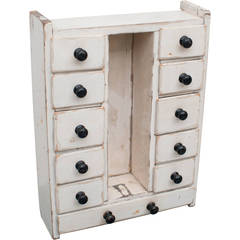 Pine and Oak Spice Drawers